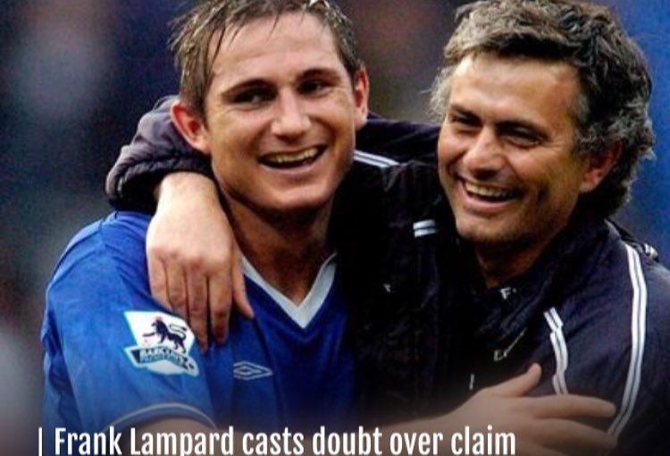 แฟรงก์แลมพาร์ดสงสัยว่าJosé Mourinho ชอบที่จะให้ …
