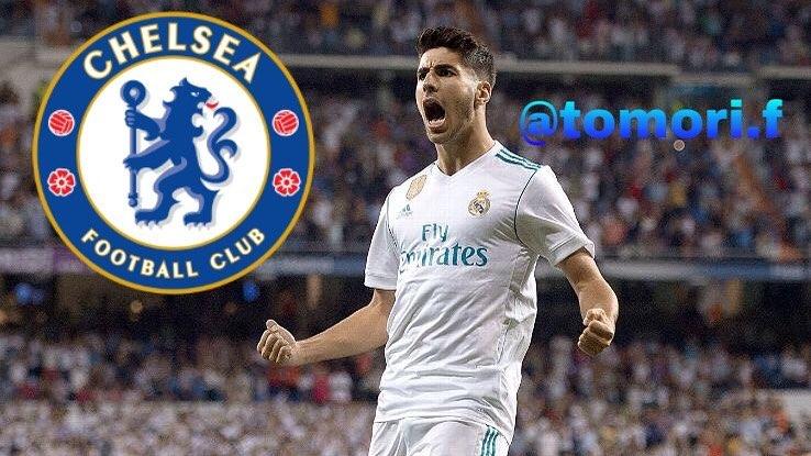 Marco Asensio🇪🇸อาจจะพูดคุยเกี่ยวกับการเข้าร่วมอันโตนิโอคอนเต้ใน Chelsea in t …