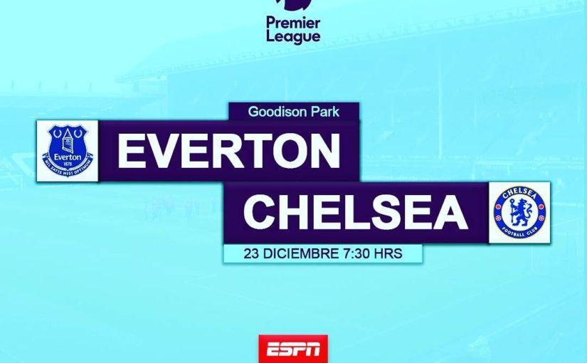 #Everton #Chelsea #PremierLeague Sabado 7:30 ชั่วโมง #ESPN …