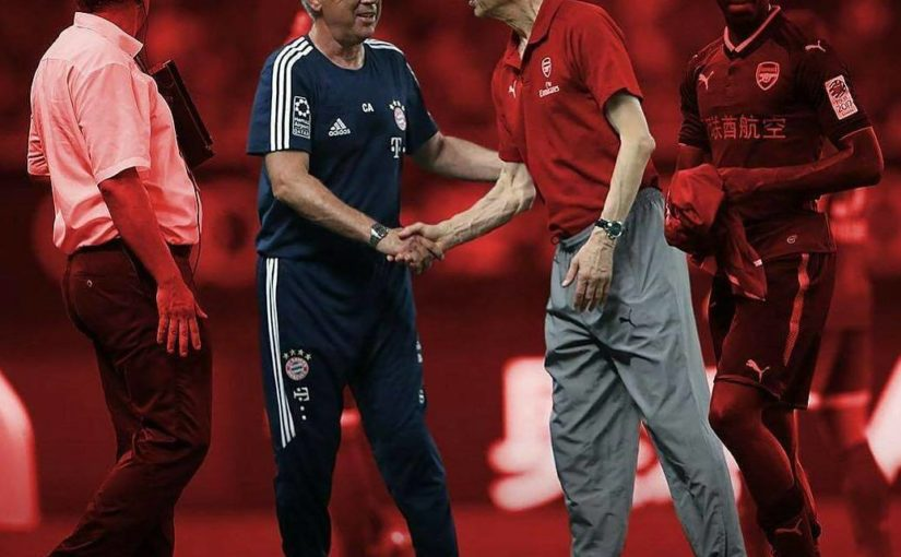 Carlo Ancelotti ตกลงที่จะเข้าร่วมArsène Wenger ใน Arsenal เมื่อวันศุกร์ที่ผ่านมา