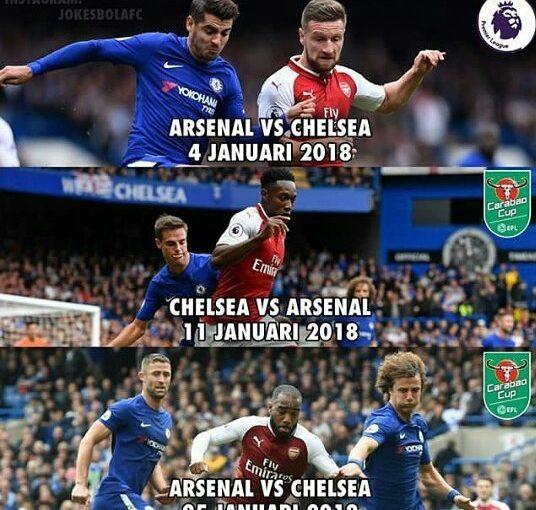 Derby London ในเดือนมกราคม  #premierleague #chelseafc #arsenal #arsenalfc #c …