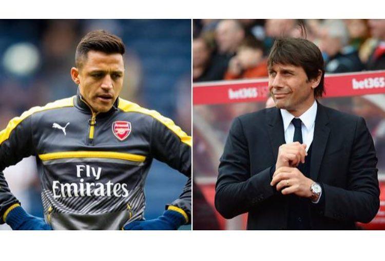 "Antonio Conte ที่ Alexis Sanchez ""เราไม่เคยเข้าร่วมการแข่งขันครั้งนี้"" Conte กล่าว ""เคย …."