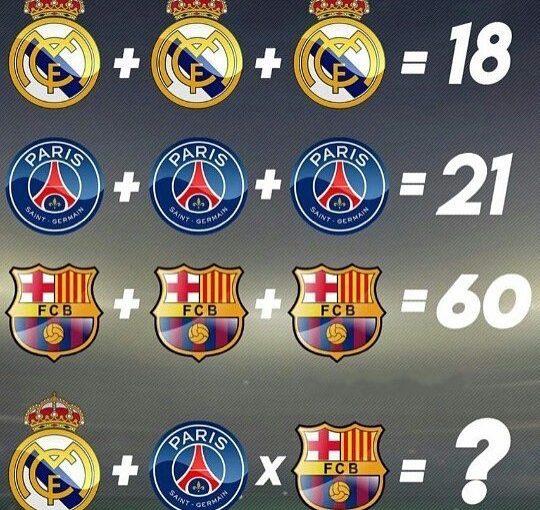 คำตอบคืออะไร?  @ smotrisportru # fifa # ฟุตบอล # fifa # ฟุตบอล # goals # goals # ucl # barcelona …