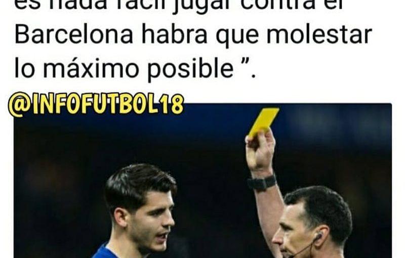 คำพูดของโมราตะ  สำหรับข้อมูลเพิ่มเติมอย่าลืมติดตาม @ mundo_futbolero10 ️️  # …