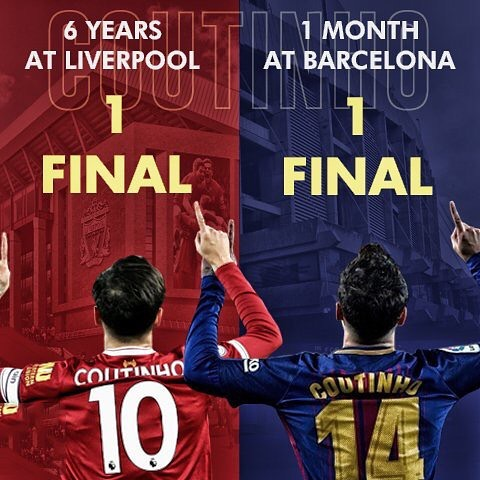 "Coutinho- ""ฉันมาที่นี่เพื่อชนะชื่อ"" #coutinho #barcelonafc #ggmu #football …"