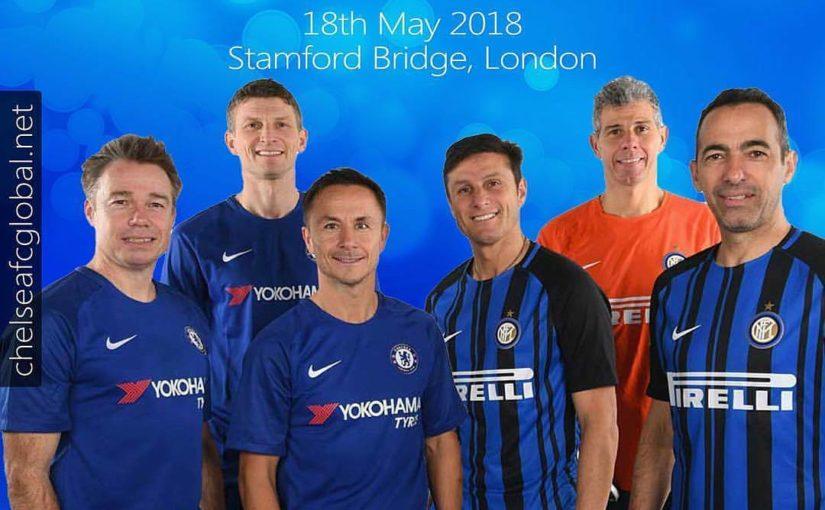 #Repost @cfc_global Chelsea Legends จะเป็นเจ้าภาพจัดการแข่งขัน Inter Forever ในเกมพิเศษ …