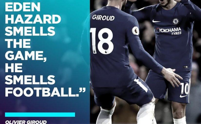 Eden Hazard อยู่คนเดียวกับเกม! ··· #BreatheChelsea #CFC #ChelseaFC #CFCFamil …
