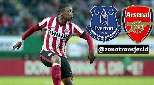 เอฟเวอร์ตันและอาร์เซนอลสนใจเข้าร่วมทีม Winger PSV Eindhoven Steven Berg …