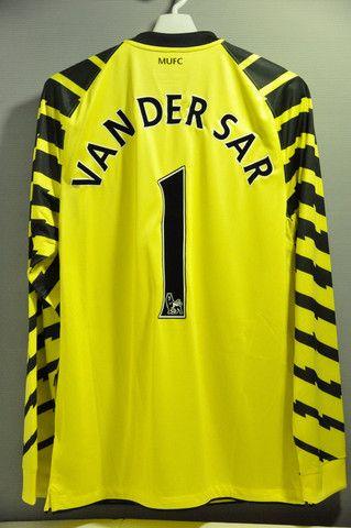 แมนเชสเตอร์ยูไนเต็ด Van Der Sar ผู้รักษาประตู GK Jersey เสื้อ Replica 2012 EPL Englis …
