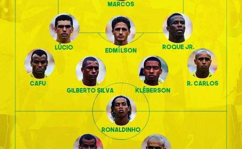 บราซิลในฟุตบอลโลกปี 2002, หยิบขึ้นมา⭐️⭐️⭐️⭐️⭐️ . . . . . . # #########################