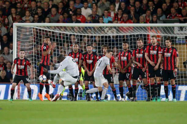 Romelu Lukaku จาก Manchester Utd freekick ถูกระงับในช่วง Premier League ma …