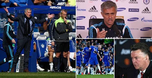 เชลซี vs แมนเชสเตอร์ยูไนเต็ด: Jose Mourinho เปิดตัวการจู่โจมผู้ได้รับมอบหมายโดย clai …
