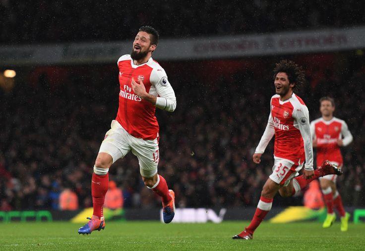 Olivier Giroud ภาพถ่ายภาพถ่าย – Arsenal v Crystal Palace – พรีเมียร์ลีก – ซิมบิ …