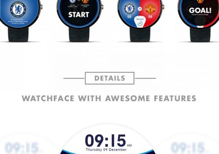 พรีเมียร์ลีกอังกฤษ Watchface – Android Wear on Behance