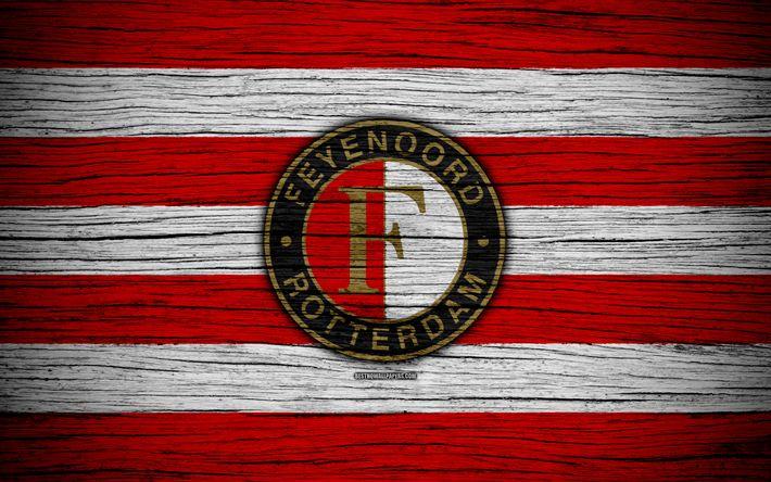 ดาวน์โหลดวอลเปเปอร์ Feyenoord FC, 4k, Eredivisie, ฟุตบอล, ฮอลแลนด์, สโมสรฟุตบอล …