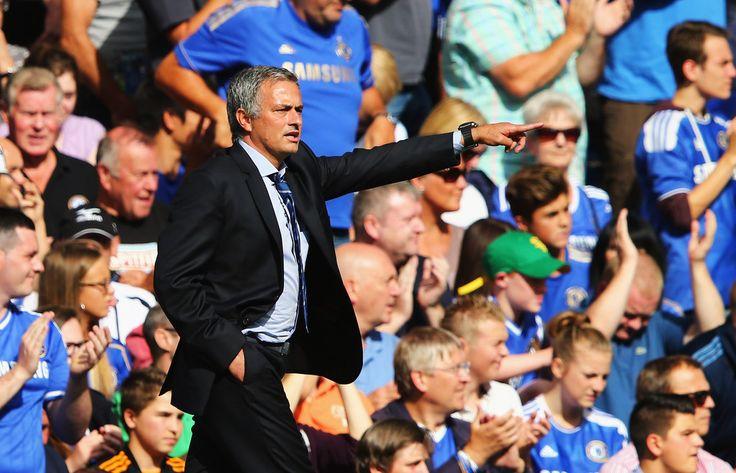 Jose Mourinho ภาพถ่าย – เชลซี vs ฮัลล์ซิตี้ – พรีเมียร์ลีก – ซิมบิโอ