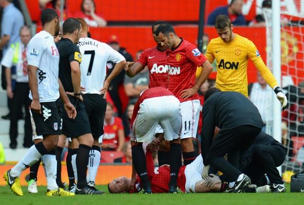 Wayne Rooney Photo – แมนเชสเตอร์ยูไนเต็ด vs ฟูแล่ม – พรีเมียร์ลีก