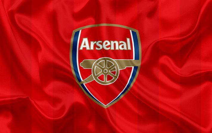 ดาวน์โหลดวอลล์เปเปอร์ Arsenal FC, สโมสรฟุตบอล, พรีเมียร์ลีก, ฟุตบอล, London, …