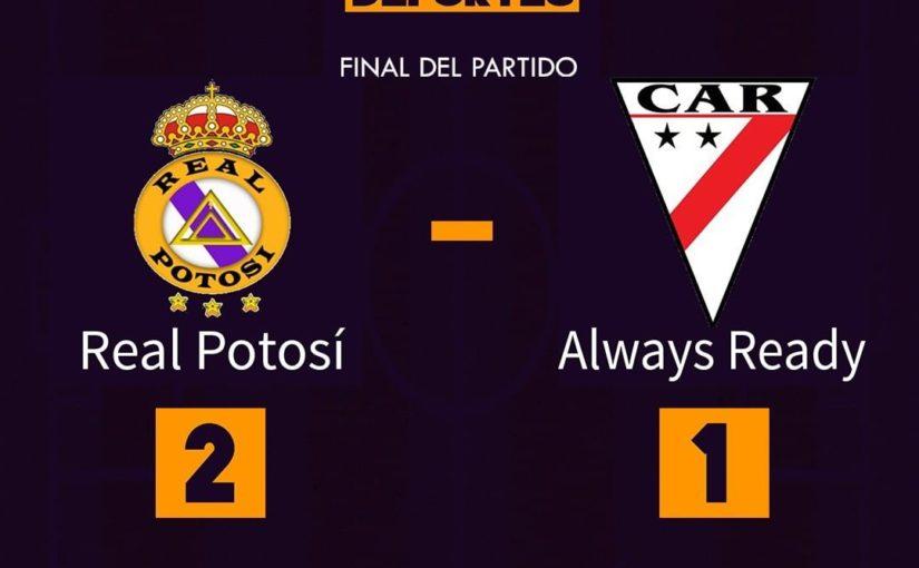 จบเกม! # RealPotosi 2 – 1 #AlwaysReady เป้าหมาย: ️ 9 & # 39; Arrascaita (RPO) …