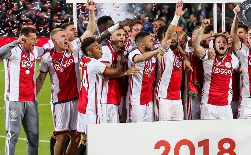 ผู้ชนะคู่ชาวดัตช์! . ขอแสดงความยินดี @AFCAjax ในหัวข้อ Eredivisie ที่ 34 ….