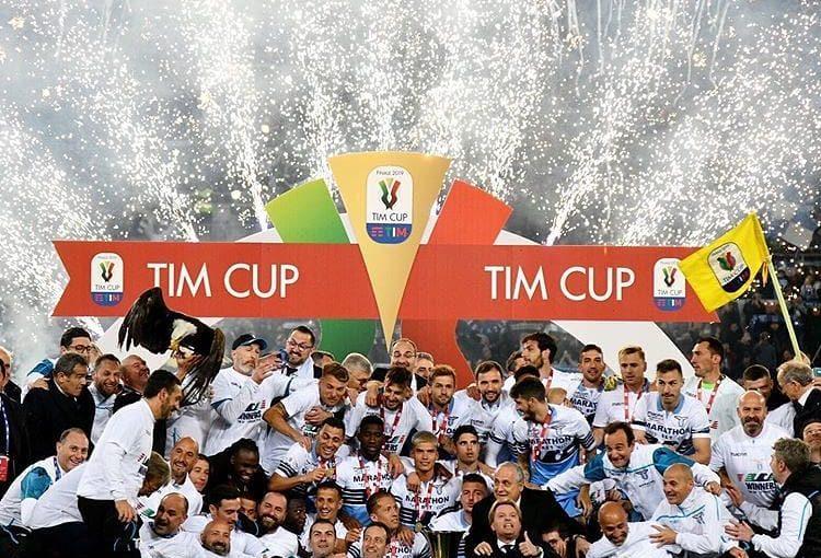ลาซิโอชนะโคปปาอิตาเลีย . .  #championsleague #game #futbol #futball #skills …