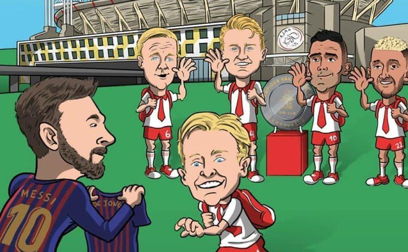 ยินดีต้อนรับ @frenkiedejong (ครั้งที่หนึ่ง   #Spanish #fcbarcelona #barcelona #Messi #fc # …
