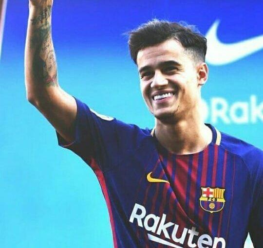 #coutinho #Barcelona # 7 #philippecoutihno #cou #Brasil #vascodagama #laliga #gol …