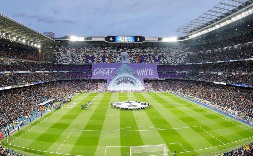 Bernabéu Champions League นั้นดีที่สุด . . ติดตาม @realmadrid ….