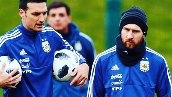 Aguero & Icardi ในอาร์เจนตินารัฐ 32 สำหรับ Copa America (TyC)  …