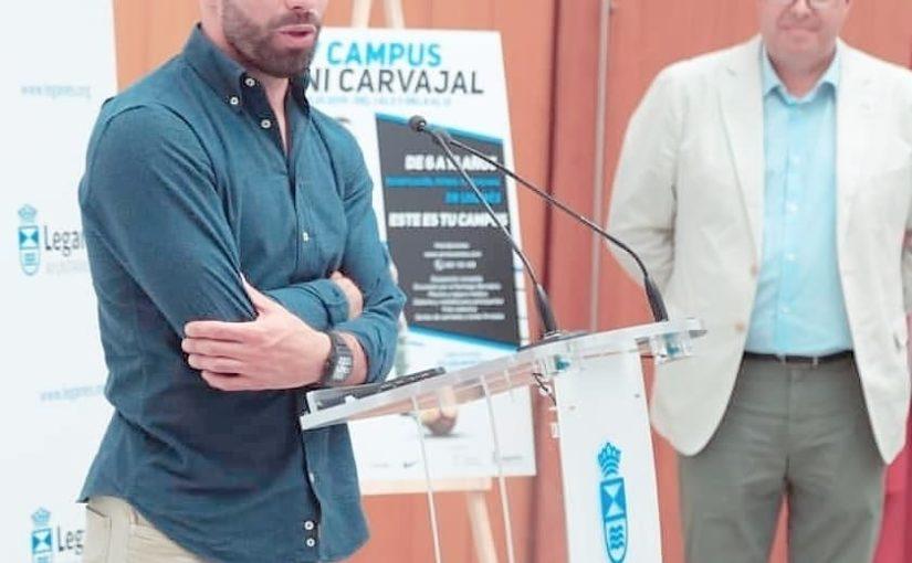 หัวใจของฉันส่องแสง . @ dani.carvajal 2 . .  #realmadrid # football #re …
