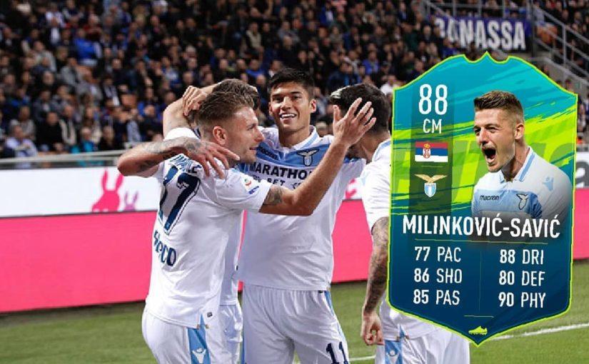 Coppa Italia จบลงแล้วและ Lazio ชนะ … Sergej # Milinkovic-Savic 🇷🇸 points …