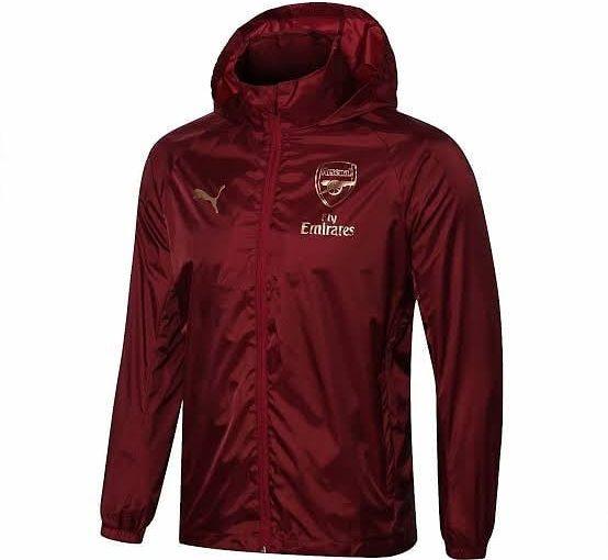 มีในสต็อก !! แจ็คเก็ตเสื้อกันลม Puma Arsenal – ไวน์ •หน่วยความจำตัด⠀⠀ ⠀ 20 $ …