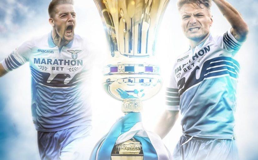 Lazio ได้รับรางวัล Coppa Italia! 🦅🇮🇹  #soccer #sports #sportsnews # entertainmen …