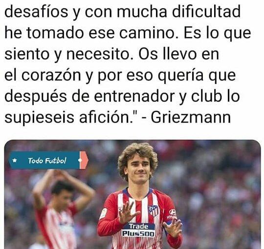 Griezmann ยืนยันว่าเขาจะออกจาก Atletico Madrid ในฤดูร้อนนี้! สโมสรไหนที่ …