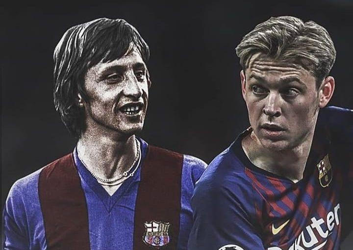 """Frenkie De Jong:"""" ระหว่างการฝึกซ้อมของ Orum ฉันหวังว่าจะได้เห็น Messi"""