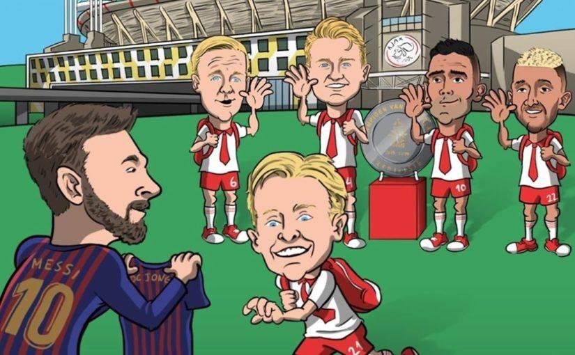 Frenkie de Jong จบการศึกษาจาก Ajax  #soccer #sports #sportsnews # ความบันเทิง …
