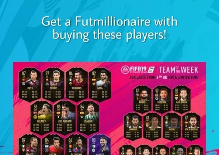 การลงทุน # TOTW ใหม่! ผู้เล่นเหล่านี้สามารถเพิ่มเหรียญของคุณเป็นสองเท่า ซื้อสายฟ้า …