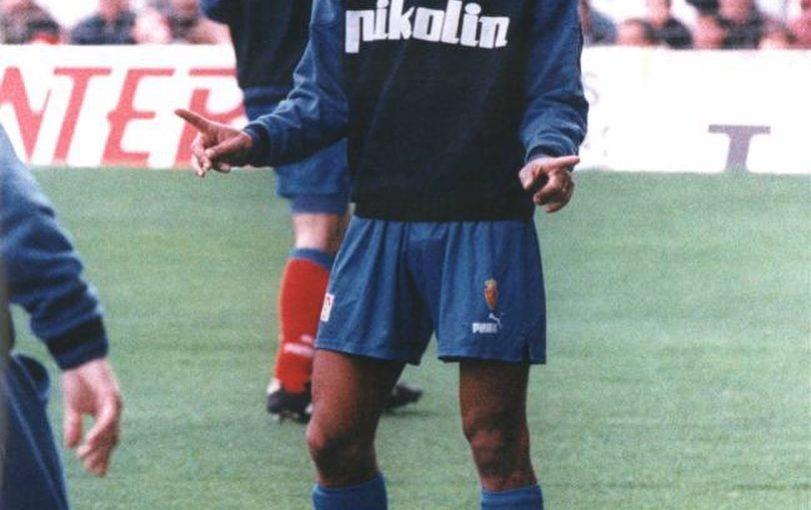 Cafu (1995) @realzaragoza . . . #zaragoza #laliga #cafu #brazil #brasil #footba …