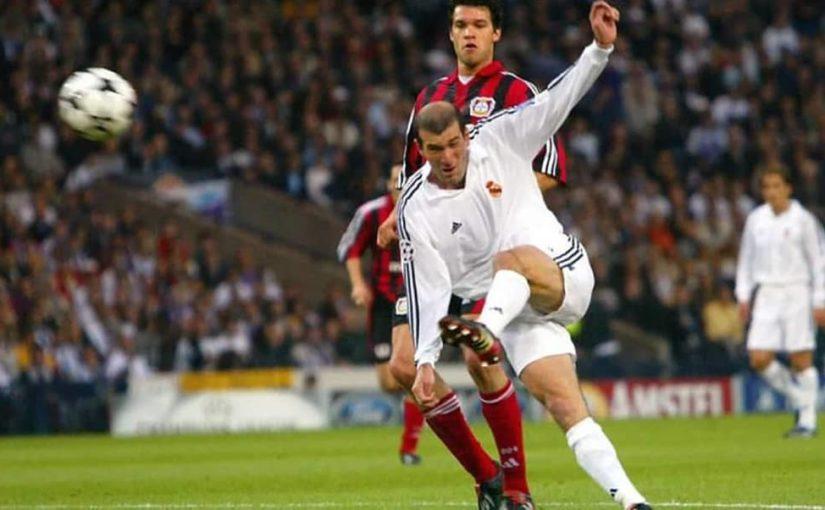 ถึงวันที่ในปี 2002 Zinedine Zidane ได้ทำประตูที่ดีที่สุด …