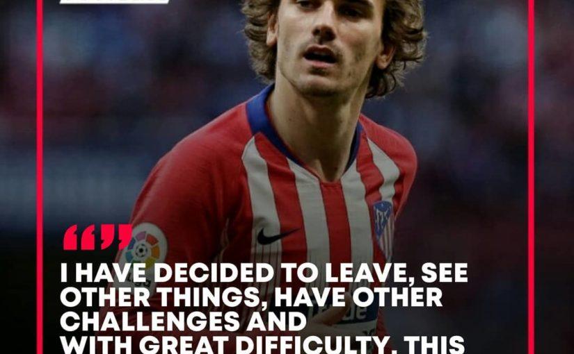 @antogriezmann ได้คำพูดดีๆสำหรับแฟน ๆ Atletico  # 360 ฟุตบอล # สำหรับ …