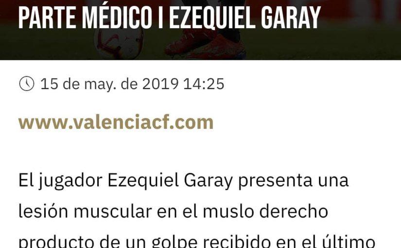 Ezequiel Garay มีอาการบาดเจ็บที่กล้ามเนื้อขาขวา หากเป็นเพียงการรัฐประหาร …