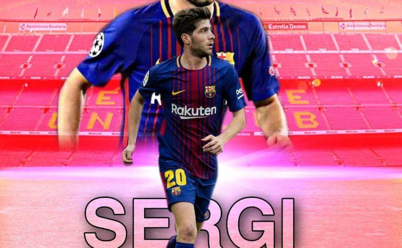 การเปลี่ยนแปลงใหม่สำหรับผู้เล่น FCB @sergiroberto โชคดีฉันหวังว่า …